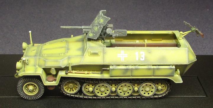 Hanomag Sd.Kfz.251/10 Ausf,C with 3.7cm PaK 35/36